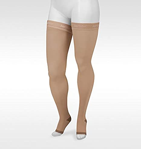 Juzo Silver Soft 2061 Knee Highs 20-30 mmHg OPEN Toe Compression