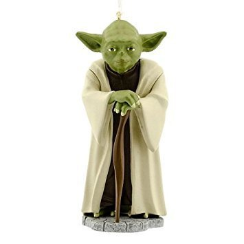 Star Wars Yoda Christmas Ornament By Hallmark