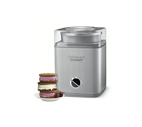 Cuisinart Pure Indulgence Frozen Yogurt Sorbet & Ice Cream Maker