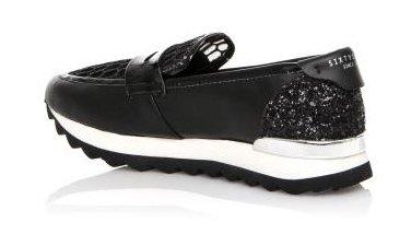SIXTYSEVEN - Zapato mocasín de mujer - Negro - 78639