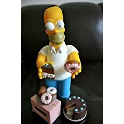 Homer Simpson Talking 3D Donut and Cake Alarm Clock