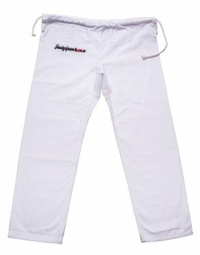 Justgipants.com Men's The Modern Gi Pant, White, (Jiu Jitsu Gi Pants)