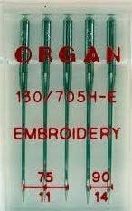 Janone ed altre Aghi da ricami Misti Organ per macchine da cucire Brother