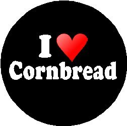 Button Love Pinback (I Love Cornbread 1.25
