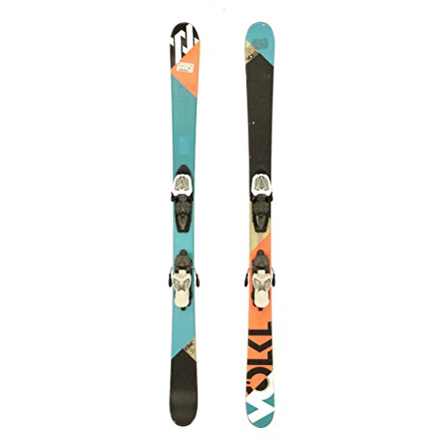 Used 2012 Volkl Kink Jr Kids Skis Marker 7.0 Bindings C Condition - 138cm