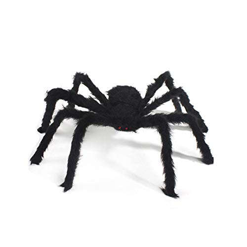 Prank Spiders - Party Decoration Halloween Spider Decor Props Bar Moving Ornament Fluffy Imitate Black Gadgets Prop - Supplies Gadgets Spiders Prank Party Decorations Gadget Decor Easter -