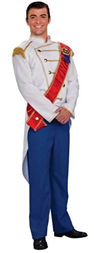 Forum Novelties Men's Standard Prince Charming Costume Top, Multi-Colored,