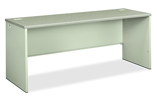 HON 38000 Series Credenza Shell - Desk Shell for Office, 72w x  24d x 29.5h, Gray/Light Gray (Metal Office Credenza)