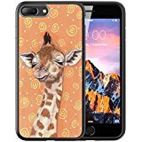 iPhone Black Customized Rubber Giraffe product image