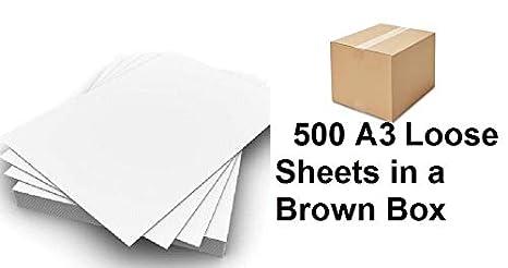 Caja A3 2500 hojas de papel suelto oficina impresora papel ...