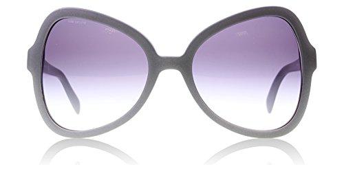 Prada PR05SS UFG4W1 Matte Aluminium Grey PR05SS Butterfly Sunglasses Lens - Butterfly Sunglasses Prada