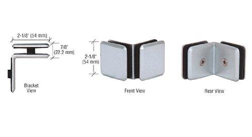 Series 90 Degree Glass - CRL Chrome Estate Series 90 Degree Glass-to-Glass Clamp