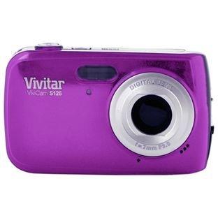Vivitar ViviCam S126 Digital Camera Blue, Compacts, 16 Megapixels Digital Blue Vivitar Vivicam