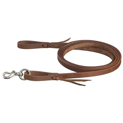 Tough-1 5/8inx7 1/2ft Harness Leather Roping -