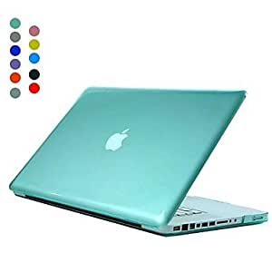 "ZCL Bright Colors Crystal Hard Case Shell for 13.3"" 15.4"" Apple MacBook pro , Green , 15.4"""