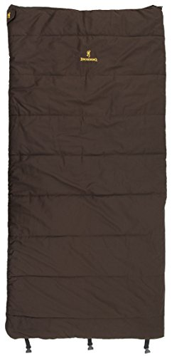 Browning Camping Yukon 0 Degree Flannel Sleeping Bag by Browning Camping