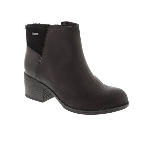 GTX - Black Leather Womens Boots 10.5 US (Clark Viola)