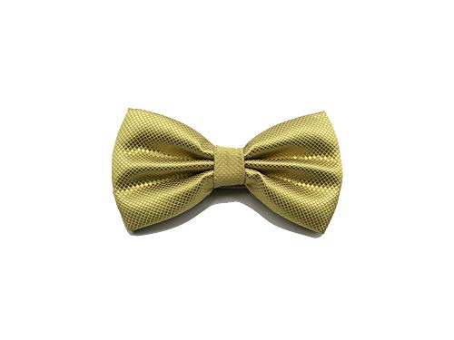 Mens Polyester Bow Ties Adjustable Man Bowstie Plaid Check Tuxedo Party Wedding Butterfly,SB02-02 ()