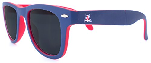NCAA Arizona Wildcats Game Day Sunglasses with Microfiber Carrying Case/Pouch - Fully - Arizona Wildcats Sunglasses