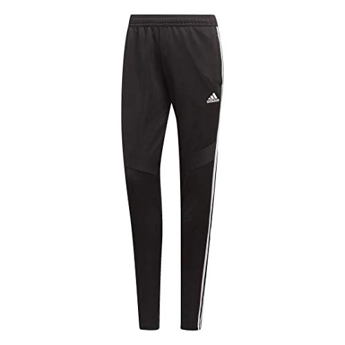 adidas Women's Soccer Tiro 19 Training Pant, Black/White, Medium