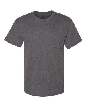 Hanes 5280 5.2 oz. ComfortSoft Cotton T-Shirt Charcoal Heather -