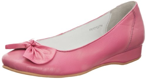 Lunar FLH712 - Bailarinas de cuero mujer rosa - rosa