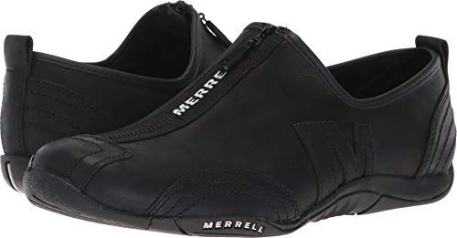 Merrell Women's Barrado Luxe Black 8.5 M (Grain Triple Shock)