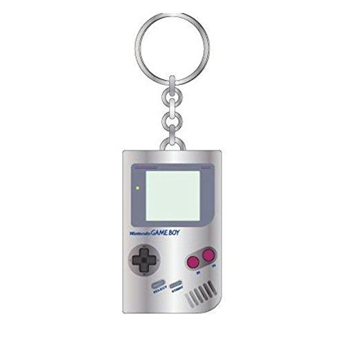 Nintendo Gameboy Silver Metal Keychain