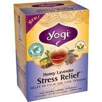 Yogi Tea,16 Tea Bags (Honey Lavender Stress Relief, 1 Pack)