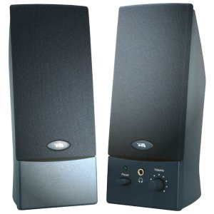 Cyber Acoustics CA-2016WB 3 W 2.0 Channel Speakers