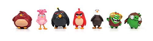 Angry Birds Movie Mini Figure Multi Pack Set A (7 Piece) -