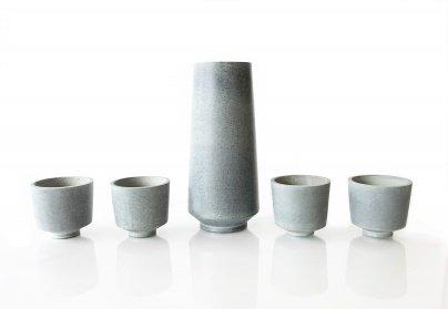 Sparq Home Soapstone Sake Set | Set of 5