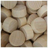 WIDGETCO 1/2'' Maple Wood Plugs, End Grain
