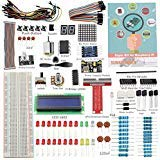 SunFounder proyecto Super Kit de principiantes para Raspberry Pi 3, 2 y modelo B + w/40-pin GPIO placa de, GPIO Cable,...