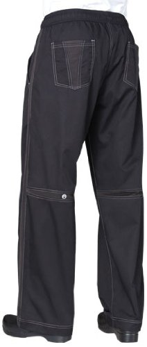 Cool Vent (Chef Works Men's Cool Vent Baggy Chef Pant (CVBP))