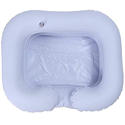Champú inflable de PVC para lavabo para ancianos, plegable ...