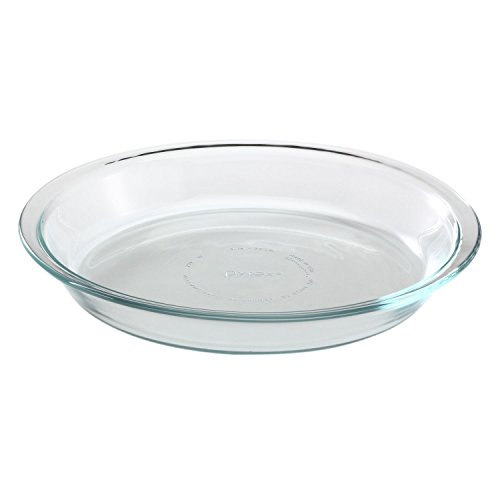 Pyrex Glass Bakeware Pie Plate 9 inch x 1.2 inch (Pack of 12)