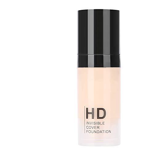 (Concealer Blemish, 15ml Popfeel Makeup Face Contour Liquid Concealer Blemish Flaw Cover Longlasting Make Up(FF01 Ivory))