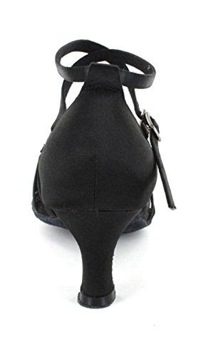 Chaussures Femmes Collection Aiguilles Larges Talons Minitoo 6721 Pour Et Dansantes Dance Salsa 76ABHqX