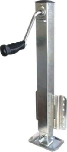 SeaSense Zinc Sqaure Tube Jack, 2500LB (Jacks Trader)