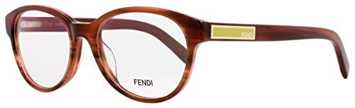 Eyeglasses FENDI 979 232 STRIPED - Fendi Brown