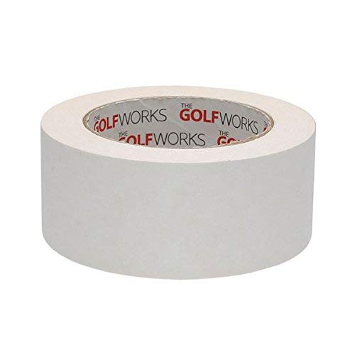 GolfWorks Double Sided Grip Tape Golf Club Gripping Adhesive - 48mm x 18yd Roll by The Golf Works