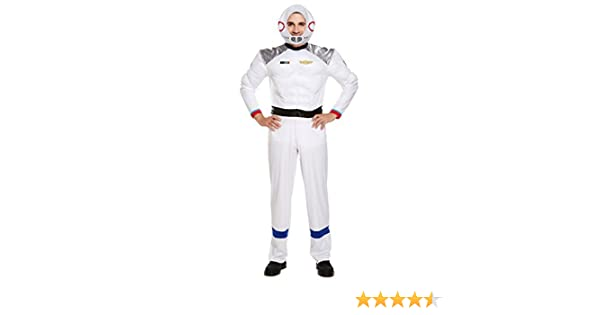 Astronauta Disfraz Hombre Astronauta Espacio UNIFORME SCI FI ...
