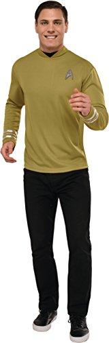 Rubie's Men's Star Trek: Beyond Captain Kirk Deluxe Costume Shirt, -