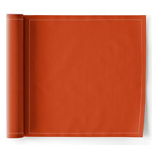MY DRAP Dinner Napkins, Cotton, Terracotta, 12 Units