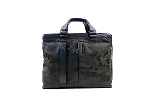 Piquadro Borsa porta PC e porta iPad® dotata di dispositivo CONNEQU Camove