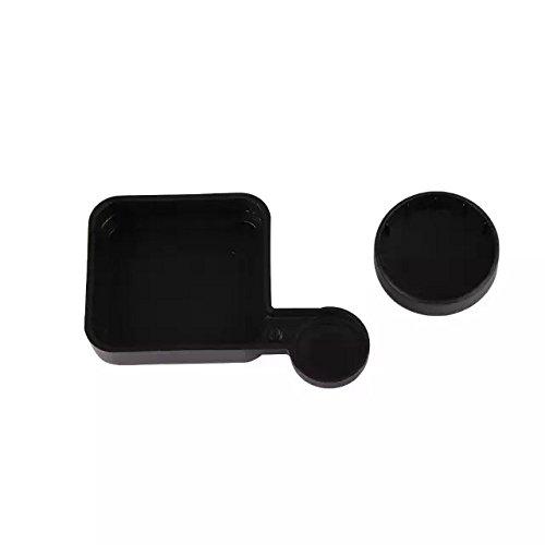 Goliton Black Protective Camera Lens Cap Cover + Housing Case Cover for Gopro HD Hero 3+ 4 (Gopro Hero 4 Lens Cover)