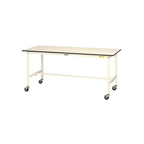 【キャンセル不可】CS19740 1500x750x826mm/150kg ワークテーブル(キャスター付) B019I5NZ9U