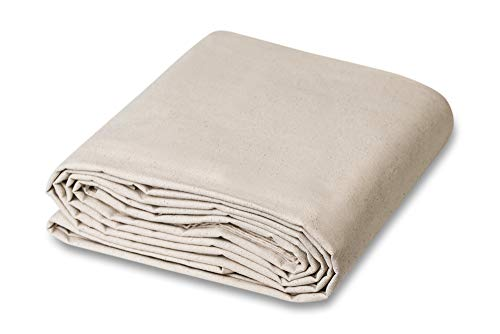 9 x 12 All Purpose Canvas Cotton Drop Cloth (Drop Cloth Bedding)