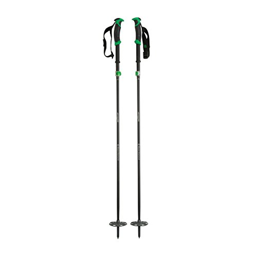Black Diamond Compactor Ski Poles - Pair Kelly Green 105-125cm